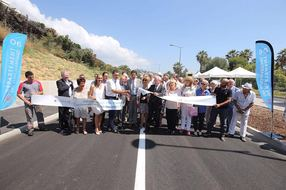 RD 6107 : inauguration de la 1re section du contournement de Vallauris – Golfe-Juan
